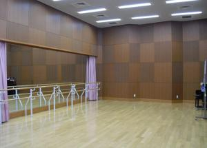 リハーサルスタジオ室内